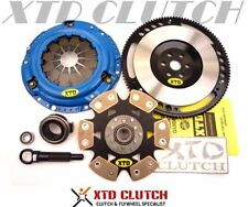 XTD STAGE 4 RIGID CLUTCH & FLYWHEEL KIT 89 91 91 CIVIC CRX D15 D16 (SOILD)