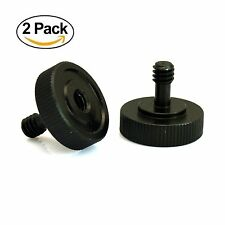 "Quick Release Thumb Screw V2 with 1/4""-20 Male Female Thread New (Pack of 2)"