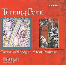 TURNING POINT (ROCK 1) - Creatures Of The Night/Silent Promises CD Excellent