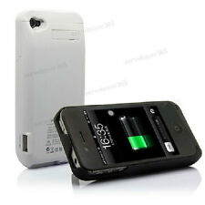 3000mAh External Rechargeable Battery Power Bank Charger Case for iPhone 4 4S