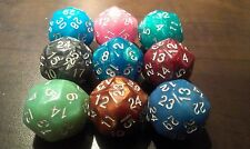 1x 30 sided dice, metallic special color, spindown MTG, D&D, RPG