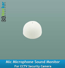 Mic Microphone Sound Monitor For CCTV Security Camera