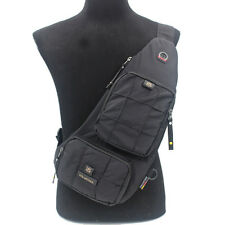 Travel Hiking Messenger Shoulder Bag Men's Oxford Assault Single Chest Back Pack