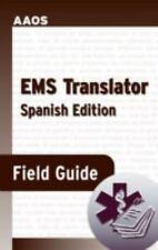 EMS Translator Field Guide (Spanish Edition), David Swadener, New Book