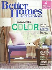 Better Homes and Gardens February 2013 Color/Dinners from the Freezer/Chocolate