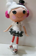 """Alice's Shoes, Custom Mary Jane For Full Size 11"""" Lalaloopsy B3_350,Rd w/wh dots"""