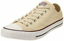 CONVERSE CHUCK TAYLOR ALL STAR  TRAINERS. BEIGE CANVAS, SIZE 17 UK 53 EU, NEW