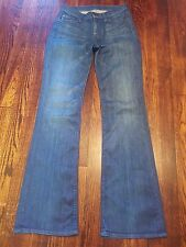 Seven For All Mankind Women's Jeans High Waisted Boot Cut 24 Zipper Fly