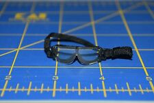 "1:6 scale Clear Black Goggles Eyewear for 12"" Action Figures C-206"