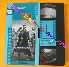 film VHS MATRIX Keanu Reeves Laurence Fishburne 2002 CORRIERE SERA (F107) no dvd