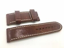 Brand new Panerai Brown Leather Band Strap for Luminor Marina 47mm model