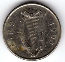 1993 10p ten pence Queen Elizabeth II Eire Irish Southern Republic Of Ireland