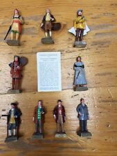 Marx Toy Company Famous Canadians Figurines