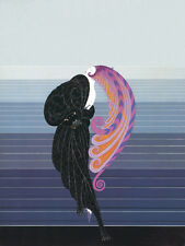 Beauty and the Beast  by Erte  Paper Print Repro