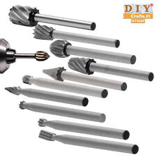 DIY Crafts®10pcs Rotary File Grinding Polishing Head Engraving Cutter Wood Toolk