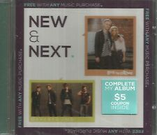 New & Next SEALED NEW CD Everfound & Love & The Outcome 2013 2 songs each CCM