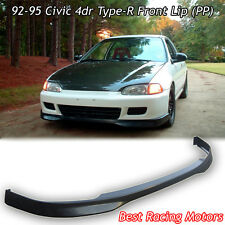 TR Style Front Lip (PP) Fits 92-95 Honda Civic 4dr