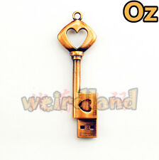 Retro Key USB Stick, 8GB Waterproof Quality Metal USB Flash Drives WeirdLand