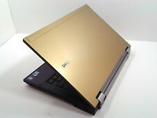 "#125 Dell Latitude E6410 14"" Gold Laptop Intel i5 2.40GHz 4GB 250GB Windows 7"