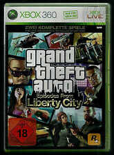 XBOX GRAND THEFT AUTO  EPISODES FROM LIBERTY CITY  NEUWERTIG OVP INKL. ANLEITUNG