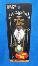 Disney Nightmare Before Christmas Pull-Back Toy Snow Mobile & Zero MIP