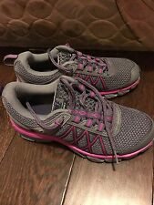 Nike Air Trail Ridge 2 Dark Grey Imperial Purple Grey Trail Hiking Womens Size 6