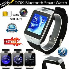 DZ09 Bluetooth Reloj inteligente para Samsung Sony Htc Android + Cámara + Ranura SIM