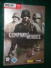 Company of Heroes Steelbook Limited Edition mit Truppenkarten PC