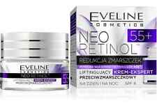 EVELINE COSMETICS NEO RETINOL 55+ FACE LIFTING CREAM EXPERT ANTI-WRINKLE