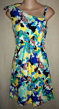 JUICY COUTURE Girls 14 NWT Mod Floral Terry Jumper Sun Dress Swim Cover-up L