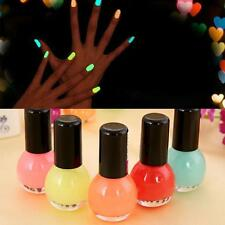 Glow in the Dark Neon Fluorescent Nail Polish HGarnish Luminous Paint 12color BP