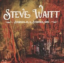 STEVE WAITT - STRANGER IN A STRANGER LAND  CD NEU