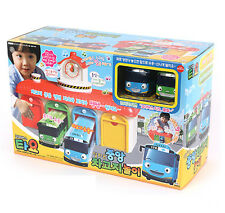 TAYO the Little Bus Main Garage Toy Sound Voice Effect Theme Song Kids Gift