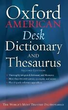 The Oxford American Desk Dictionary and Thesaurus (New Look for Oxford Dictionar