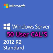 [RETAIL]Windows Server R2 2012 RDS - 50 User CALS License Key [UNIQUE]