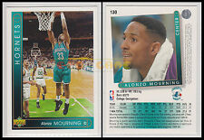NBA UPPER DECK 1993/94 - Alonzo Mourning # 130 - Hornets - Ita/Eng - MINT