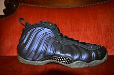 2009 NIKE AIR FOAMPOSITE ONE EGGPLANT PURPLE SIZE 9 Black 31996-051 Indoors