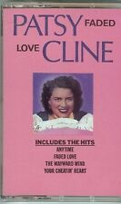 PATSY CLINE - FADED LOVE - CASSETTE - NEW