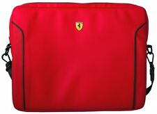 "Ferrari Fiorano (  FEDA2ICS13RE ) Leather 13"" Laptop Sleeve - Red Macbook pro"