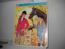 Vintage Whitman 1972 Barbie Frame-Tray Puzzle