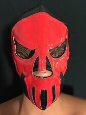 RED PUNISHER!! WRESTLING-LUCHADOR MASK! GREAT MASK! BLOODY EDITION PUNISHER!