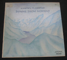KIRSTEN FLAGSTAD - Hymns From Norway London FFrr lp 5638   RARE