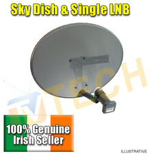 Sky / Freesat Satellite Dish with LNB, use for Sky or Free TV Fast Delivery,