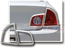 FITS CHEVY MALIBU 4DR SEDAN 2008 - 2011 CHROME TAIL LIGHT TRIM BEZELS 4PCS
