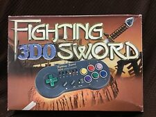 "3DO ""Fighting Sword"" Control Pad SUPER RARE Panasonic with turbo & slow mo NEW!!"