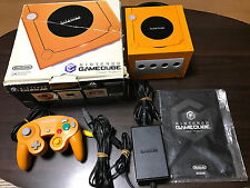 Nintendo Game cube Console Orange with BOX and Manual