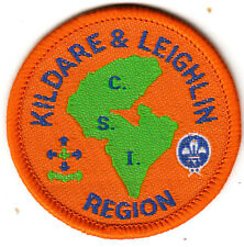Boy Scout Badge Ext KILDARE & LEIGHLIN REGION CSI Assn IRELAND
