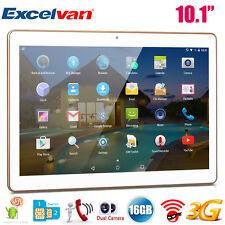 10.1 ZOLL HD TABLET PC ANDROID 5.1 QUADCORE 16GB Dual SIM/Cam 3G WIFI GPS OTG BT