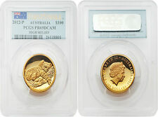 Australia 2012 Koala $100 High Relief First Strike 1 oz Gold PCGS PR69 DCAM