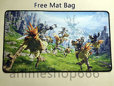 Final fantasy ff14 YGO VG Mat MTG Mouse Pad Custom Playmat Free shipping #32